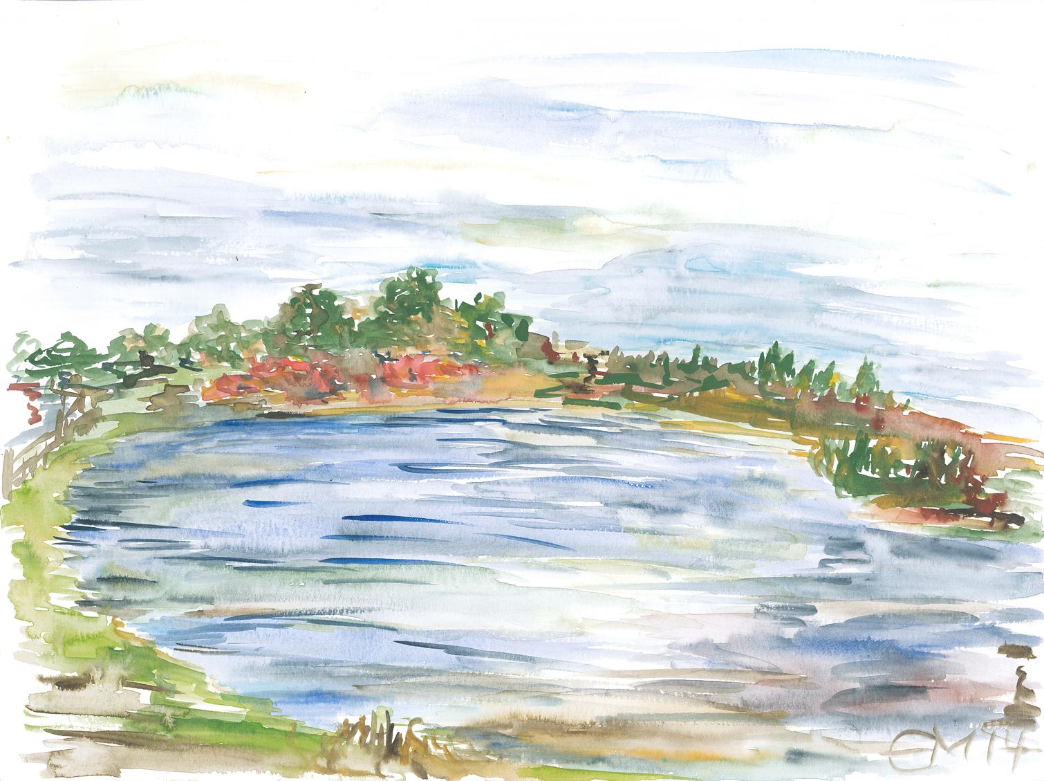 015_Markkleeberger See vom Westufer 08.10.14